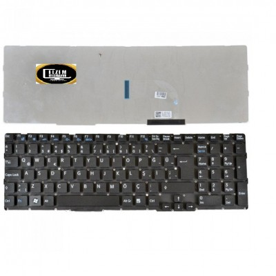 Sony VAIO SVE151G17M Notebook Klavyesi Siyah