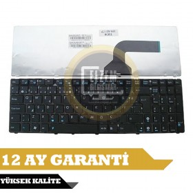 04GNQX1KUS00-2 Türkçe Siyah Çerçeveli Notebook Klavye