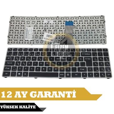 Grundig GNB 1587, GNB 1598, GNB 1599, GNB 1588, GNB 1565, GNB 1567, GNB 1690 Klavye Türkçe Gri Çerçeveli