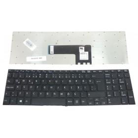 149239521US Türkçe Siyah Çerçevesiz+ Notebook Klavye