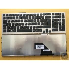 149029811  Türkçe Gümüş Gri ÇERÇEVELİ Notebook Klavye
