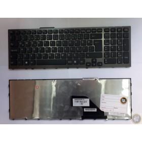 149029811  Türkçe Koyu Gri ÇERÇEVELİ Notebook Klavye