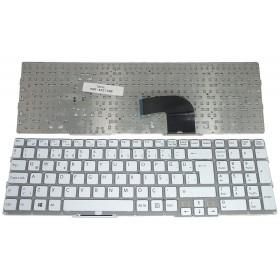 149029811 Türkçe Beyaz ÇERÇEVESİZ Notebook Klavye
