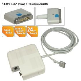 Apple 14.85V 3.05A 45W 5 pin Adaptör