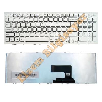 Sony Vpc-Eh VPCEH VPC-EE VPC-EL PCG-71811M V116646fk1 Aehk1a00020 Sony Vaio PCG-71911M PCG-71811L PCG-71911L PCG-71912L PCG-71913L PCG-71914L Beyaz Klavye