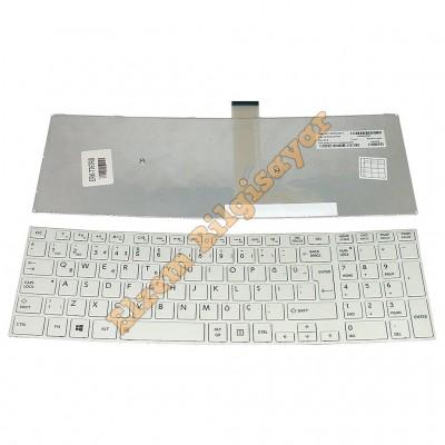 Toshiba C850  C855 C855d C870 C870d L850 L850d L870 L870d P850 P855 Beyaz Klavye