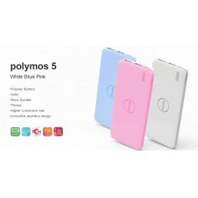 POLYMOS5 PİNK,Polymos  5000 mAH  DC5V 2.1A , HARİCİ BATARYA